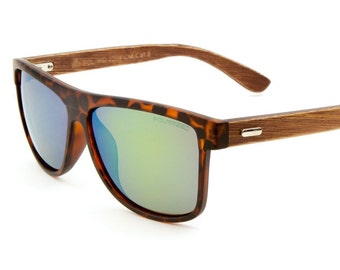 Wooden Sunglasses-Classic Style with Polarized Lens by Ziba Wood Sunglasses