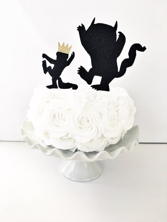 Where The Wild Things Are Cake Topper Wild One Wild Thing