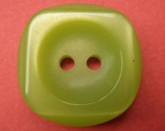 12 light green buttons 18mm (2091) button Green
