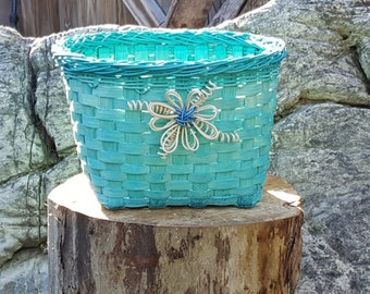 Teal Storage Basket