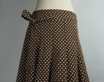 Polka Dot Parisian Vintage Skirt
