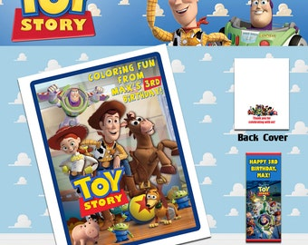 Toy Story Coloring Book with Crayons