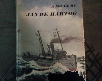 The Captain by Jan De Hartog - Vintage 1966 Hardcover First Edition