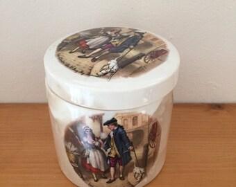 Vintage Sandland Ware Staffordshire Marmalade Jar from 1940s