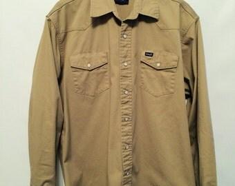 Vintage Stone Wrangler Shirt