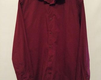 Dark Red Shirt