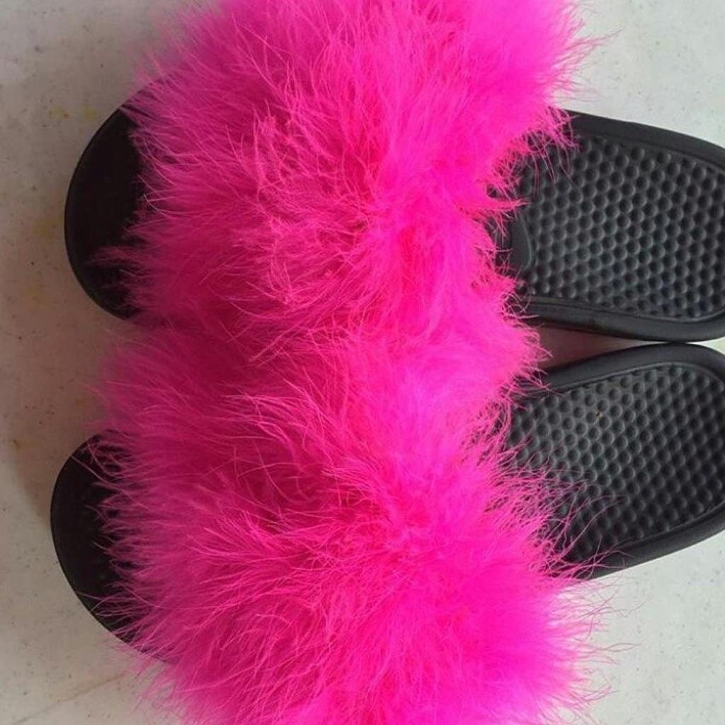 Creative Givenchy Mink Fur Slides In Black  Lyst