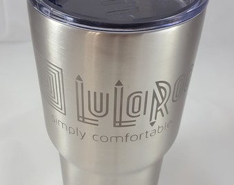 LuLaRoe RTIC 30 oz. Tumbler, Stainless Steel, Custom Etched, Personalized, RTIC Can, LuLaBro