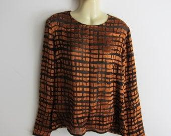 Yves Saint Laurent Vintage Blouse silk TOP