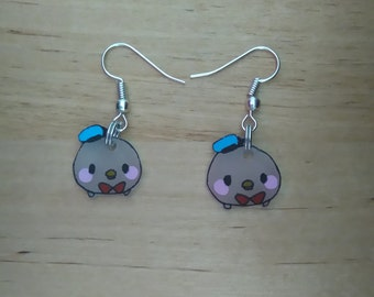 Earrings mini Donald kawaii