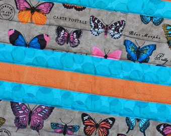 Butterfly Quilted Baby Blanket