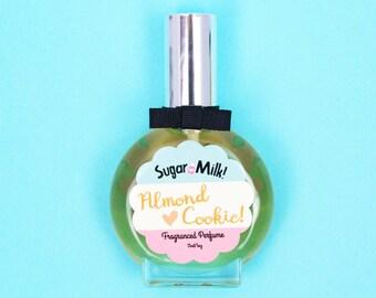 Almond Cookie Perfume/ Perfume Oil/ Body Mist/ Almond Perfume/ Cookie Perfume/ Vegan Perfume/ Natural Perfume/ Perfume Atomizer