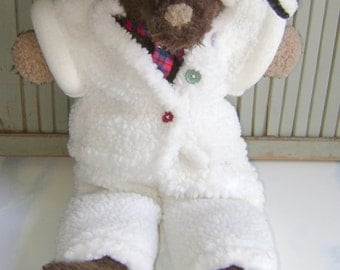 """Vintage Wolf in Sheep's Clothing~Sly~The Blue & Lucy Gang~23"""" Stuffed Plush Toy Animal~2000"""