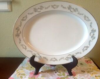 Mint Noritake Leonore Serving Platter