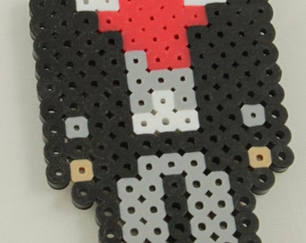 Doctor Who perler bead - The Eighth Doctor