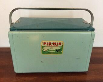 Vintage Cronstroms Pik-Nik Cooler in Original Box