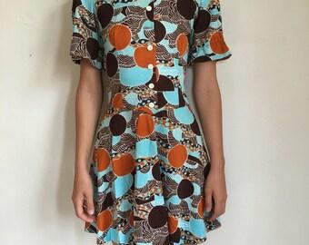 60's Mod Dress Super Groovy