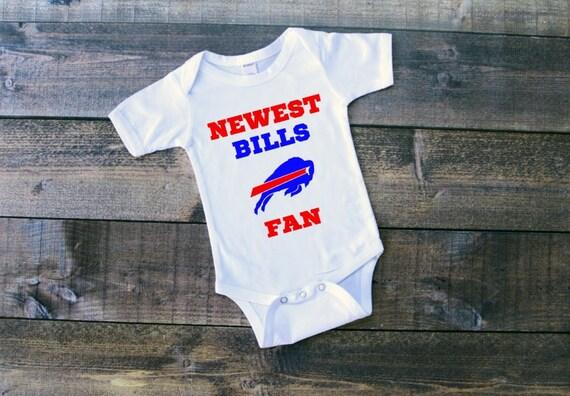 NFL Newest Bills Fan Buffalo Bills Logo by MamasModernThreads