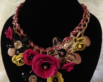 Flowers Summer Necklace