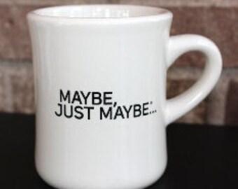 10-ounce cream diner coffee mug