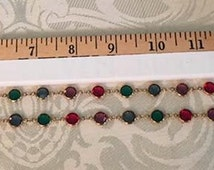 vintage Vonelle Swarovski crystal necklace