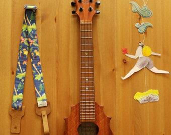 Lanimele Hawaiian ukulele strap_navy