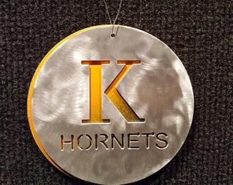 Kalamazoo College Hornets Ornament