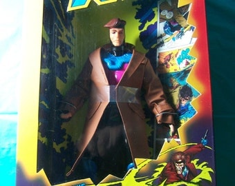 "1994 10"" Gambit Action Figure (X-Men)"