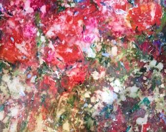 Roses in Dappled Light - Original