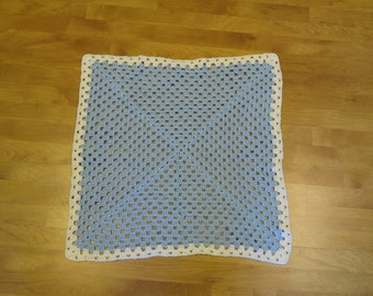 "Crochet Baby Blanket - 28""X28""  - Acrylic Yarn"