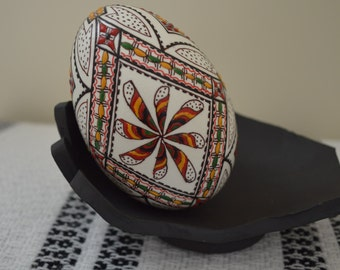 Unique Easter Decorated Egg (Real Goose Egg) for Decoration/Collectible/Gift