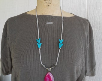 Handmade Stone Necklace SALE