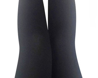 Women's Cosy Supersoft Black Leggings
