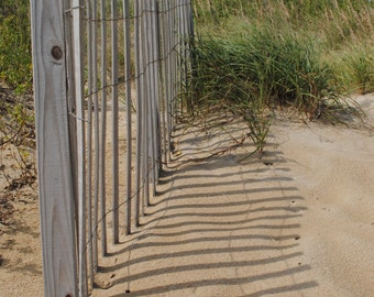 Fence/Nags Head, Outer Banks, North Carolina/Nature and Landscape Photography