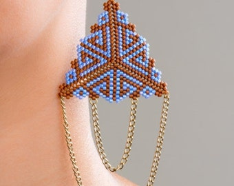 Aztec Inspired Earrings