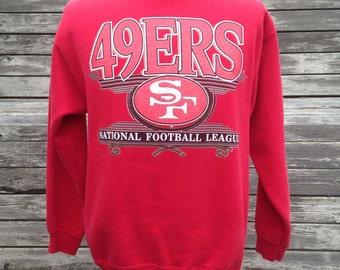 Vintage 90s SAN FRANCISCO 49ERS sweatshirt - Medium