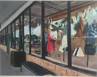 J. Crew Oil Painting