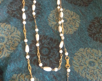 Lily White necklace