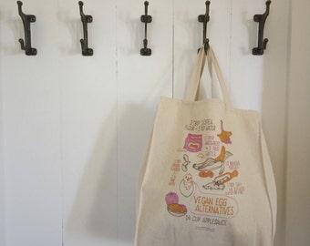 Vegan Egg Alternatives // Tote Bag