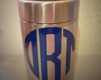 Personalized Stainless Steel insulated can holder