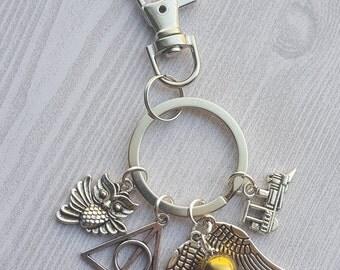 Harry Potter Keychain Bag Purse Journal Clip