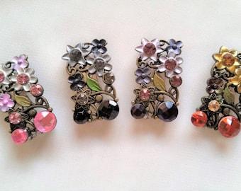 Floral Brooch/Hijab/Scarf Pin