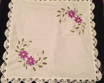 Vintage Handmade Napkins