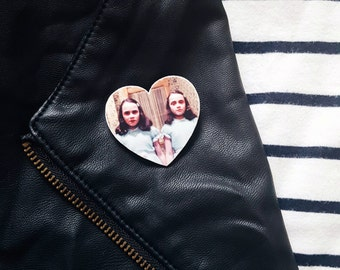 The Shining Brooch, The Shining Twins, Halloween Brooch