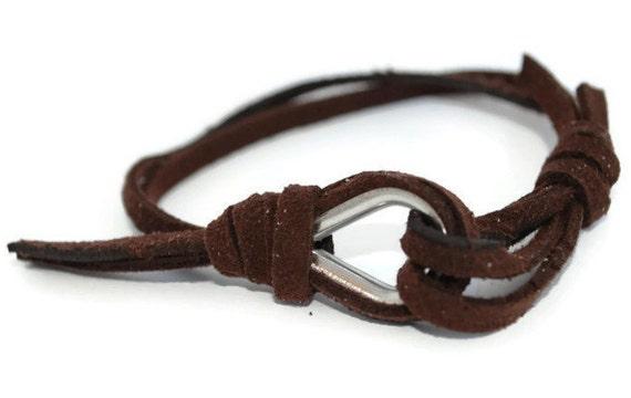 WRAP BRACELET - Bracelet Friendship Bracelet Custom Bracelet Leather Bracelets Leather Bracelet Cuff Friendship Bracelet String Bracelet