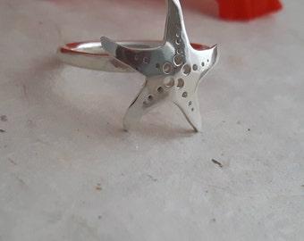 Sterling Silver 'Sea Star' Ring