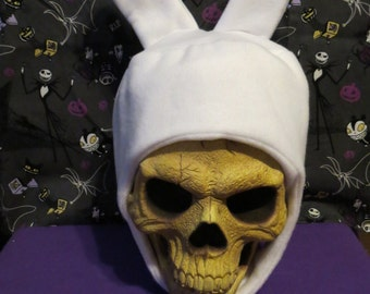 Fionna Inspired Adventure Time White Bunny Hat