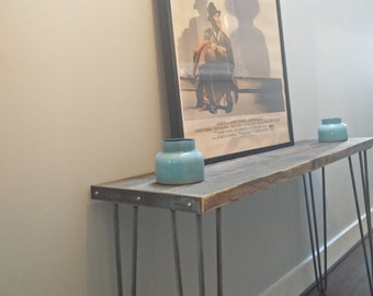 industrial Wood Hallway / Entryway, Console Table