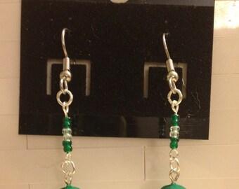 Leprechaun Hat earrings