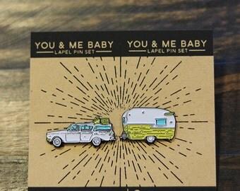 Nobody Baby But You & Me Pins- Enamel Pin set
